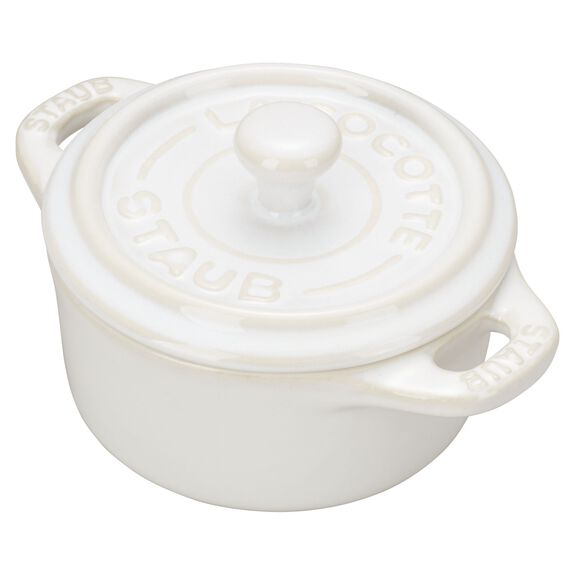 3-pc round Cocotte set, Ivory,,large 5