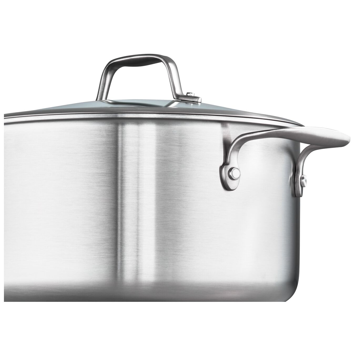 3-ply 6-qt Stainless Steel Ceramic Nonstick Dutch Oven,,large 4