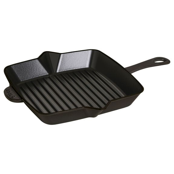 10-inch Square Grill Pan - Grenadine,,large 2