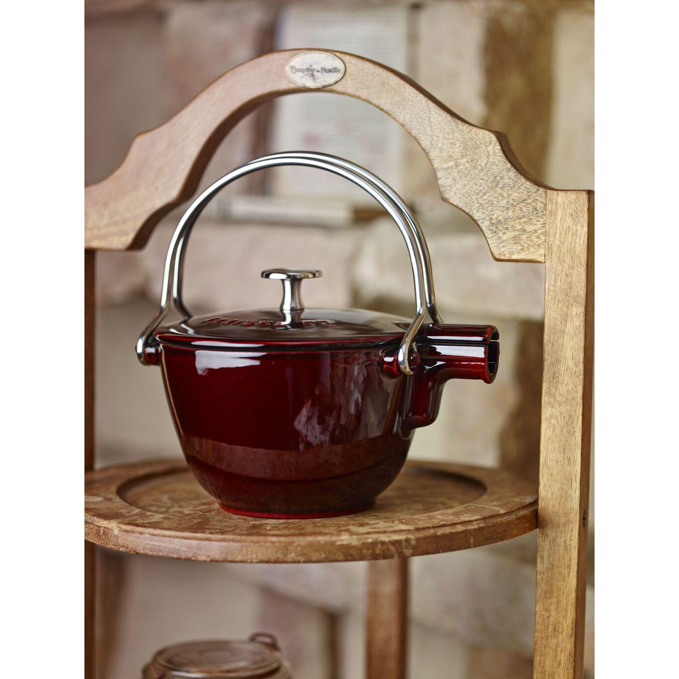 1-qt Round Tea Kettle - Grenadine,,large 7