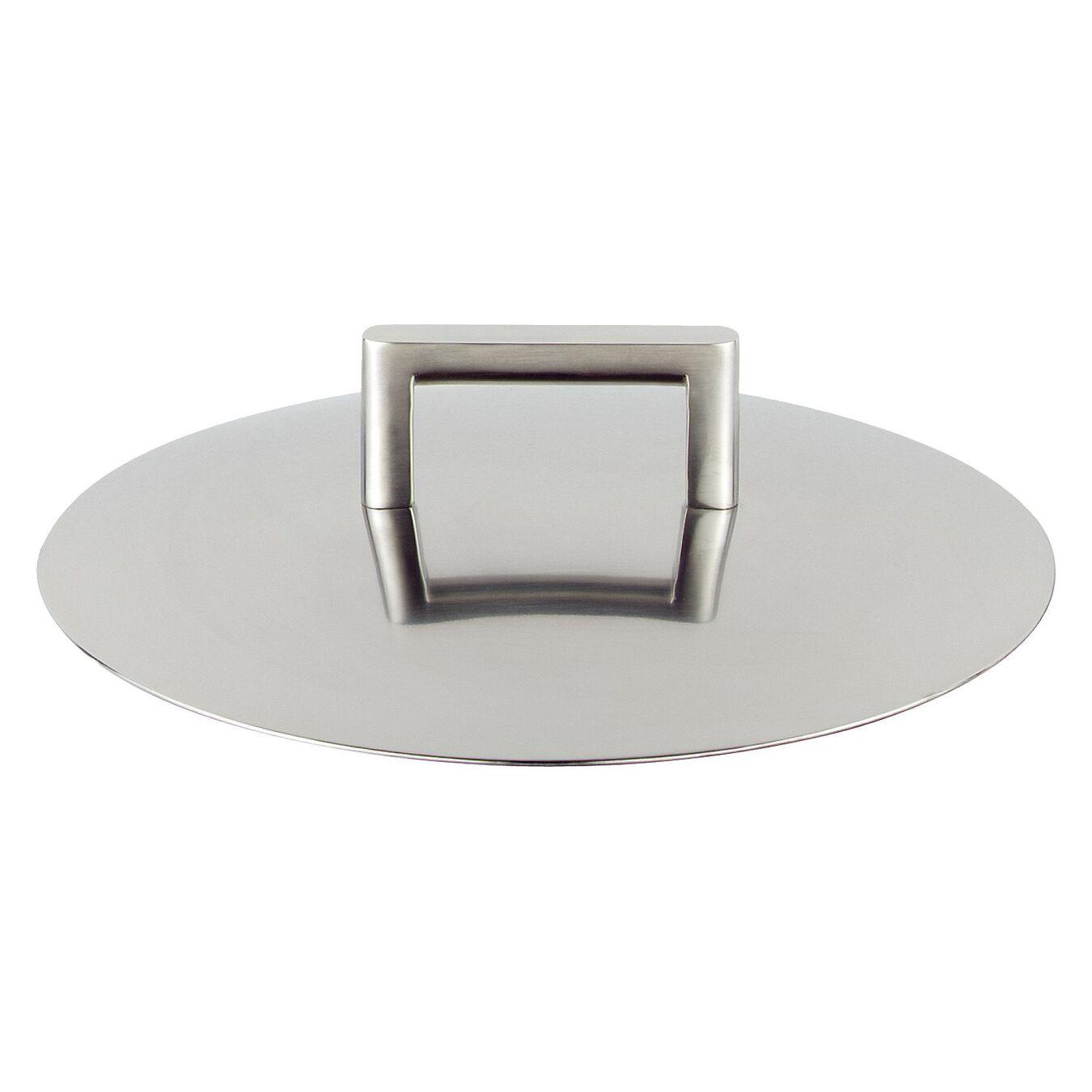 Couvercle à double paroi, 24 cm | Rond(e) | Inox 18/10,,large 1