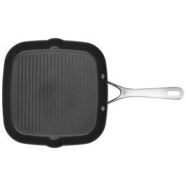 BALLARINI Alba, 28 cm / 11 inch Aluminum round Grill pan, black