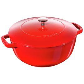 Staub Cast Iron, 9.45-inch round French oven, Cherry