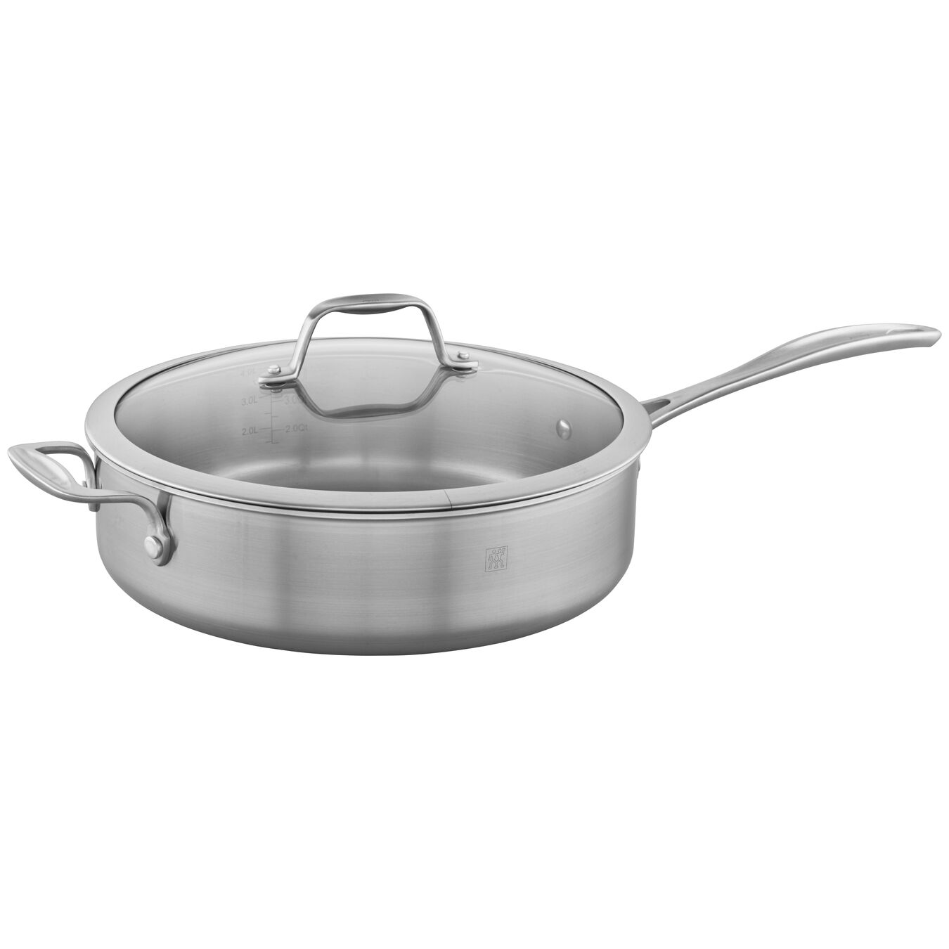 11-inch, 18/10 Stainless Steel, Non-stick, Saute pan,,large 1