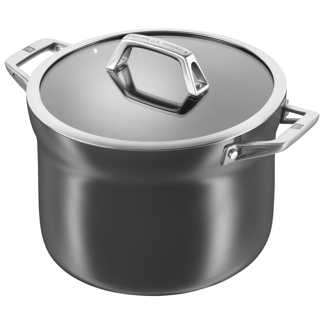 4-qt Aluminum Nonstick Soup Pot,,large 1