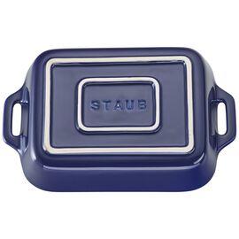 Staub Ceramics, 7.5-inch x 6-inch Rectangular Baking Dish - Dark Blue