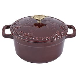 Staub La Cocotte, 2.25 l cast iron round Cocotte, grenadine-red