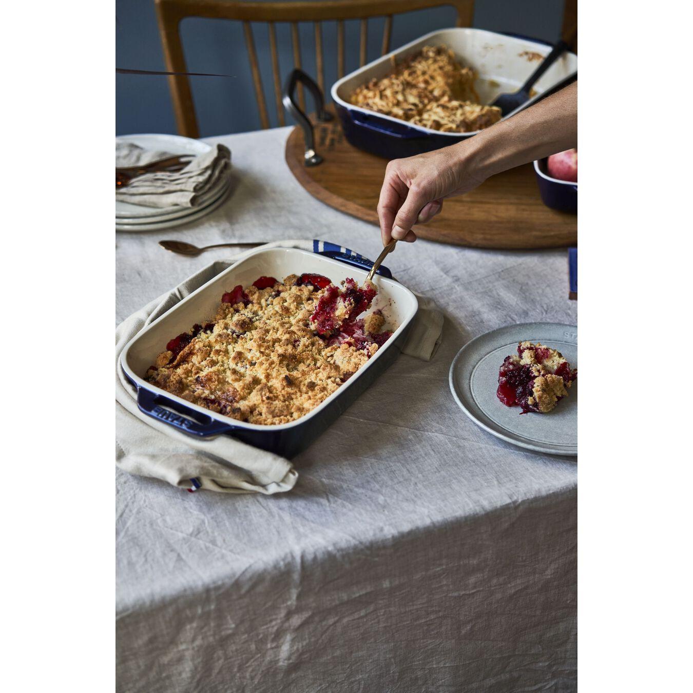 Ovenware set, 2 Piece | rectangular | dark-blue,,large 7