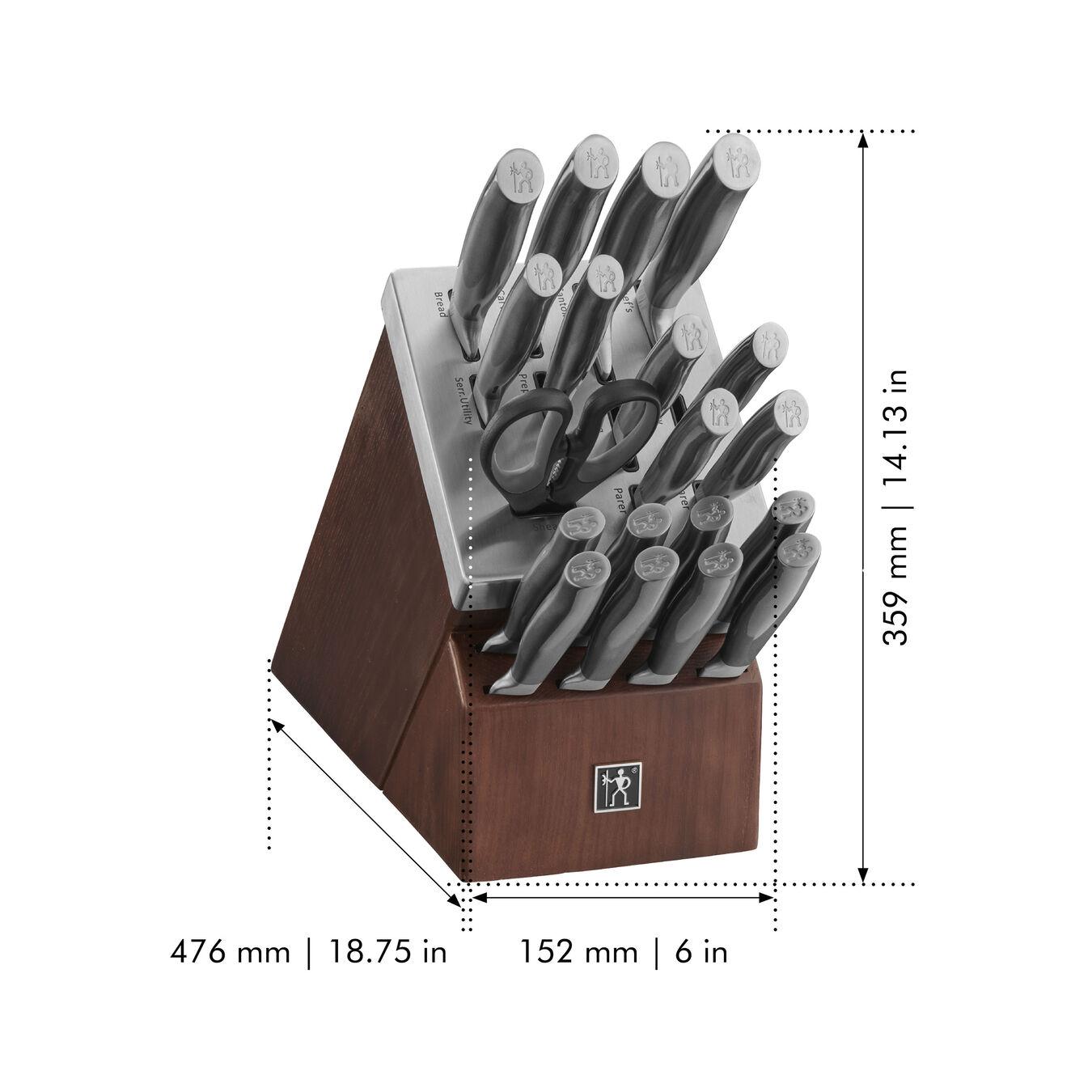 20-pc, Self-Sharpening Knife Block Set,,large 2