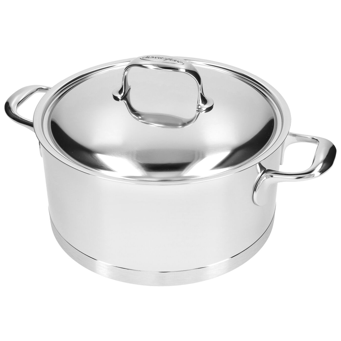 5.25 l Stew pot with lid,,large 4