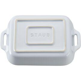 Staub Ceramics, 7.5-inch x 6-inch Rectangular Baking Dish - White