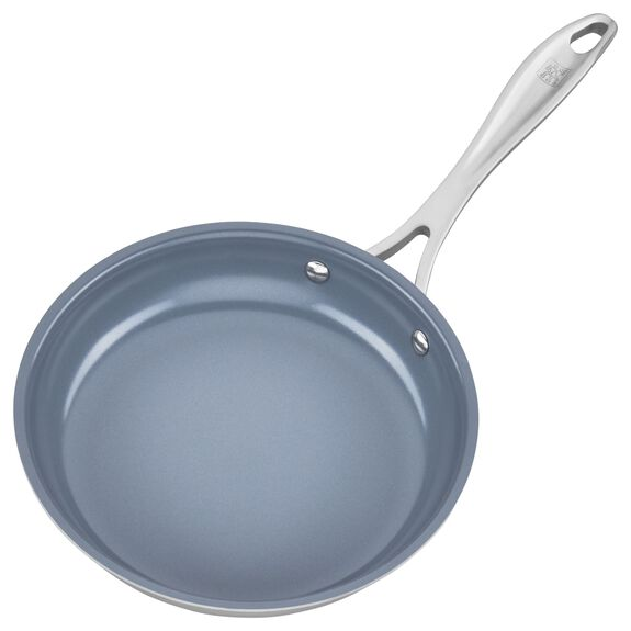 3-ply 8-inch Stainless Steel Ceramic Nonstick Fry Pan,,large 4