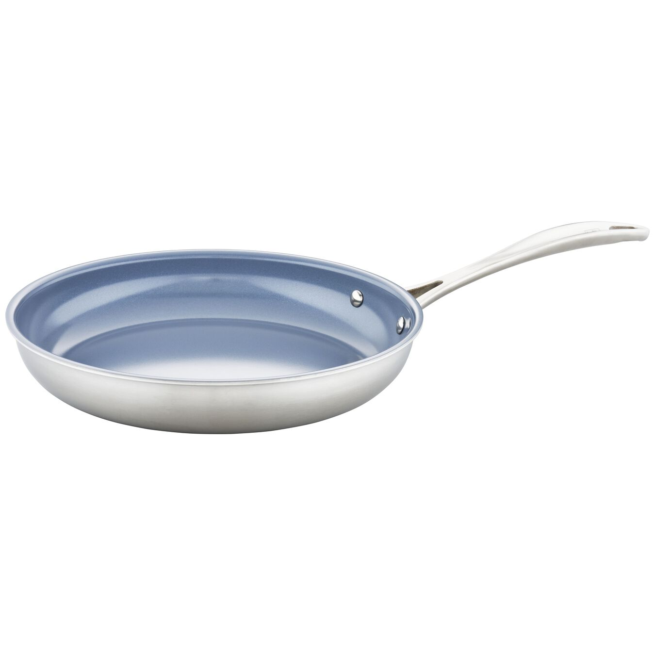 3-ply 7-pc Stainless Steel Ceramic Nonstick Cookware Set,,large 2