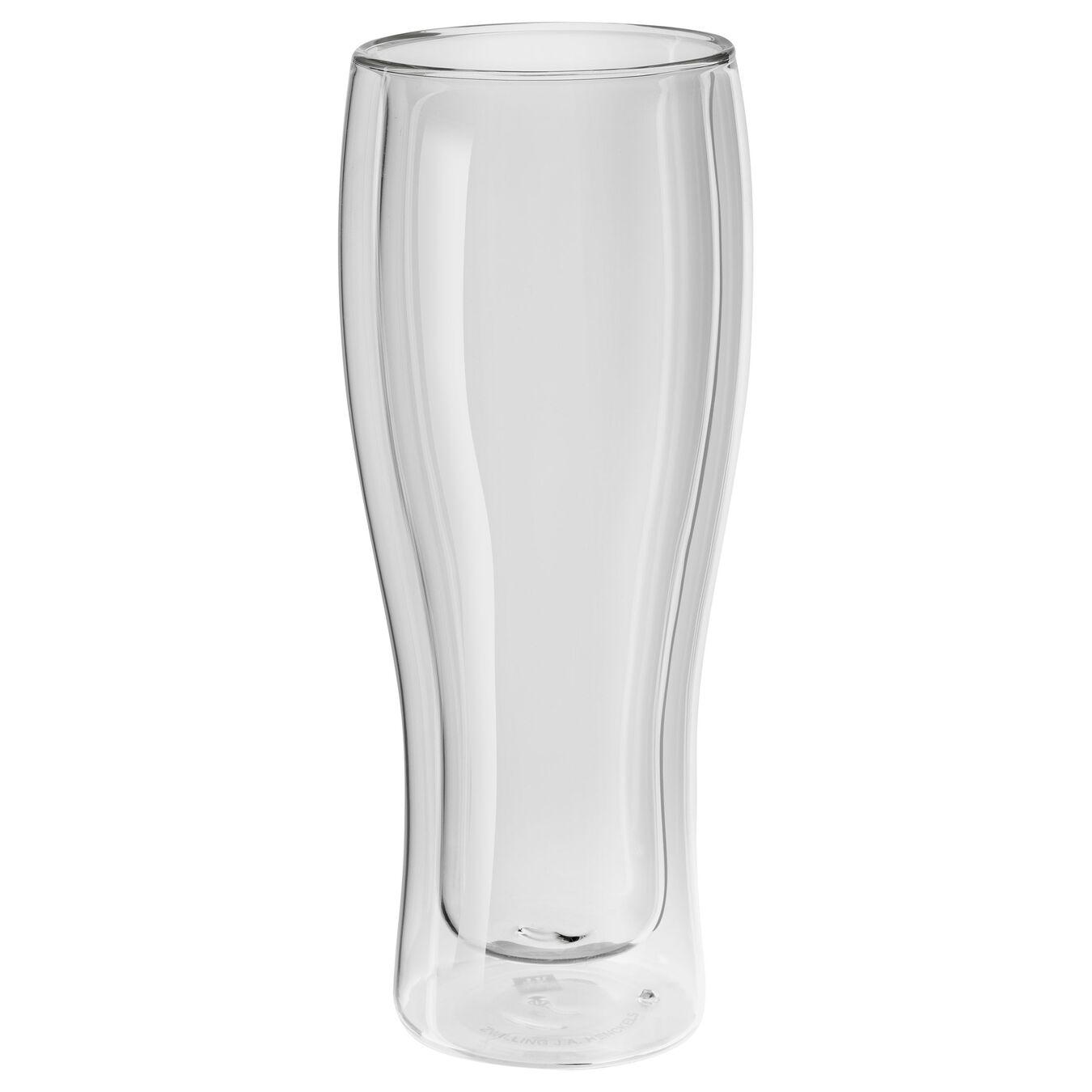 Set di bicchieri da birra - 2-pz., vetro borosilicato,,large 1