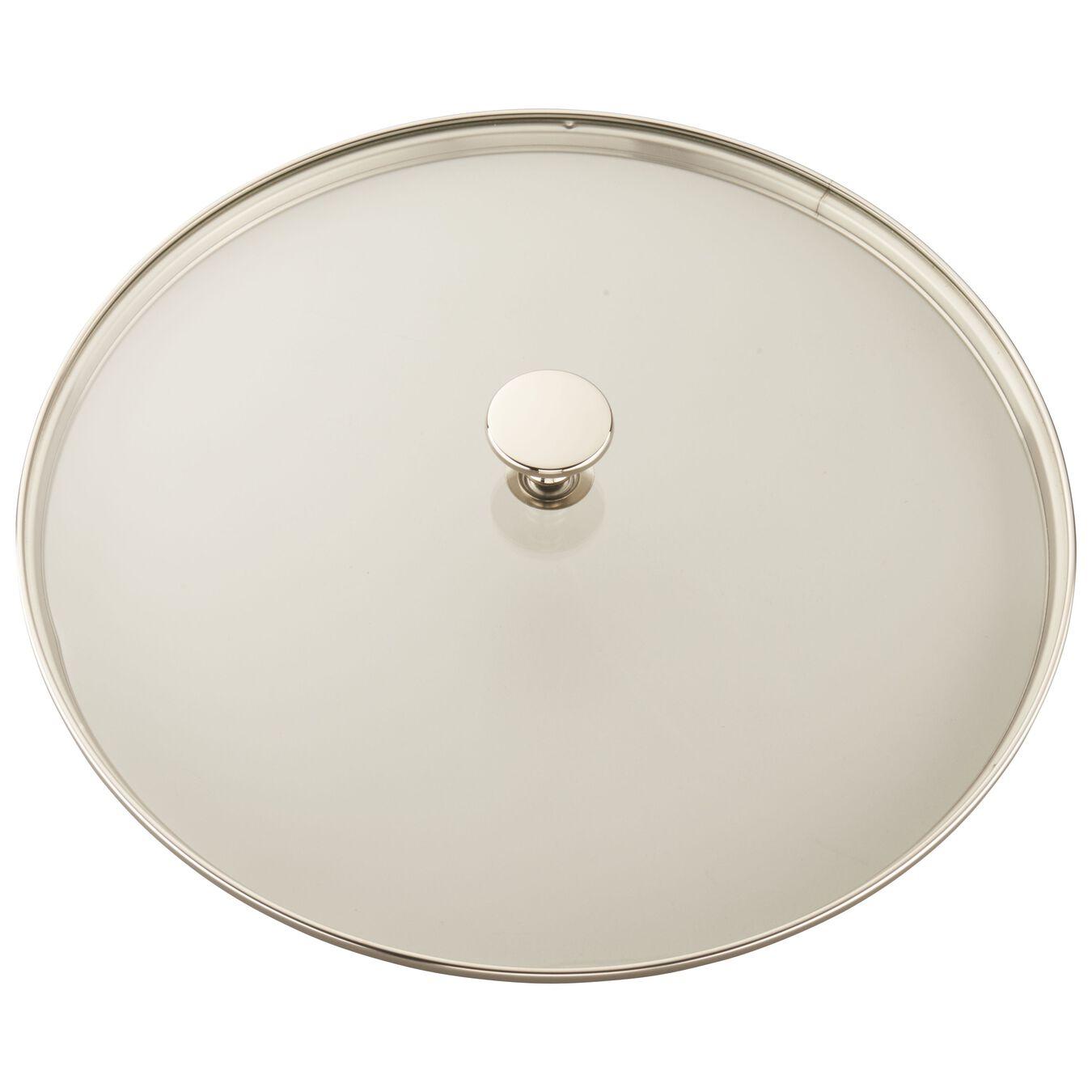 12-inch Round Steam Grill - White,,large 4