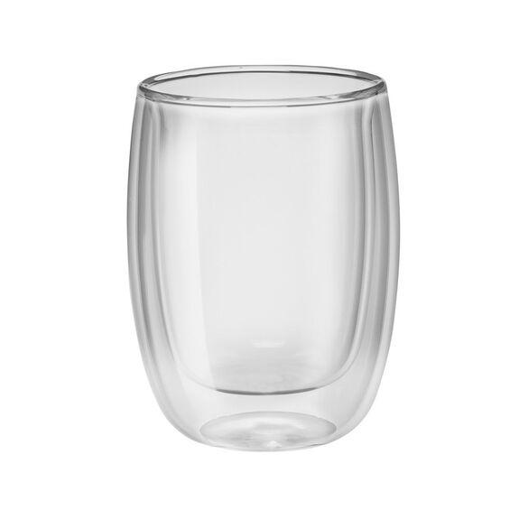 2-pc  Coffee glass set,,large 2