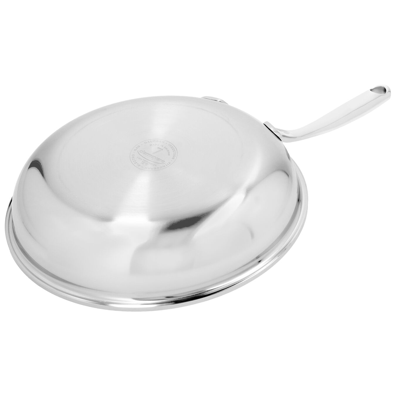 9.5-inch, 18/10 Stainless Steel, Frying pan,,large 7