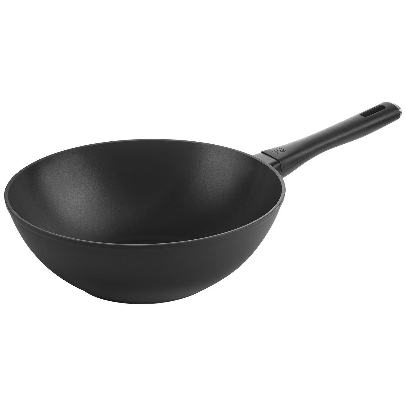 Wok Tava | Alüminyum | Siyah | 30 cm,,large 1