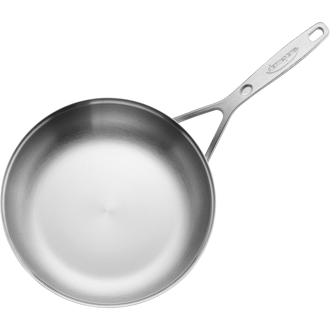 9.5-inch, 18/10 Stainless Steel, Non-stick, Frying pan,,large 2