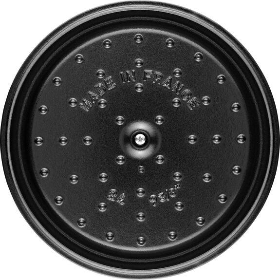 7.25-qt-/-28-cm round Cocotte, White Truffle,,large 6
