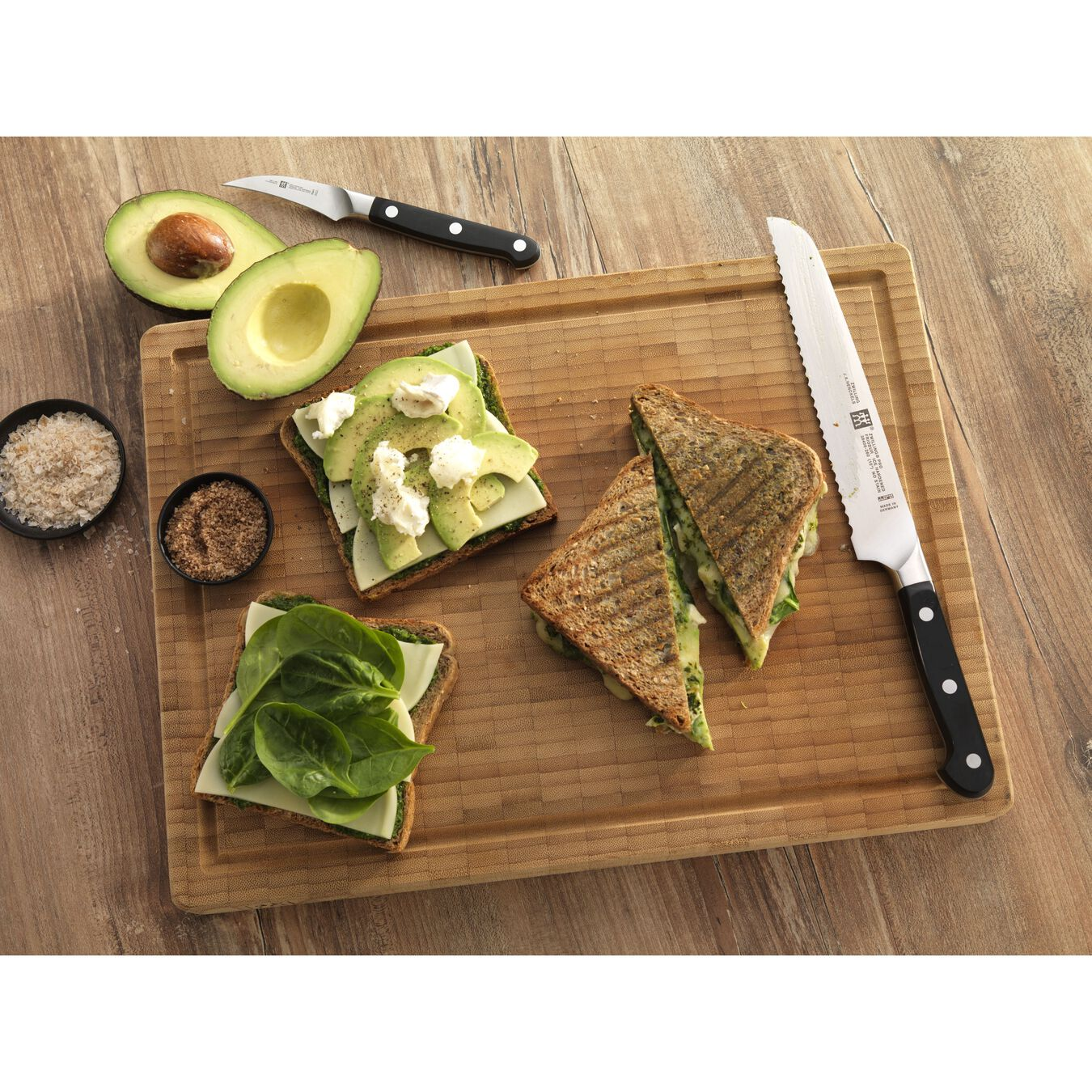 Couteau pâtissier 20 cm, Plastique,,large 3