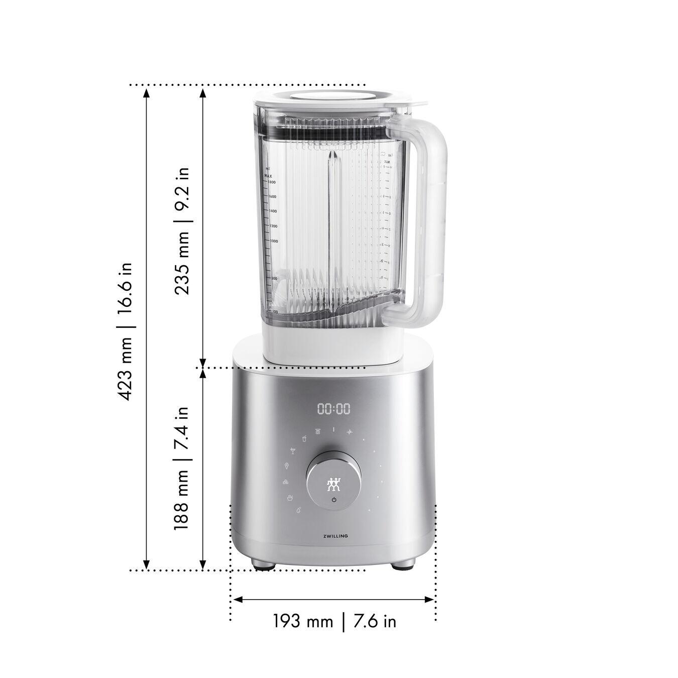 Power Blender Pro, BLDC Motor, Silver,,large 10