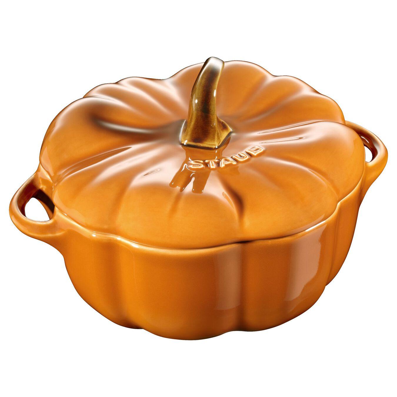 0.75 qt, pumpkin, Cocotte, burnt orange,,large 1