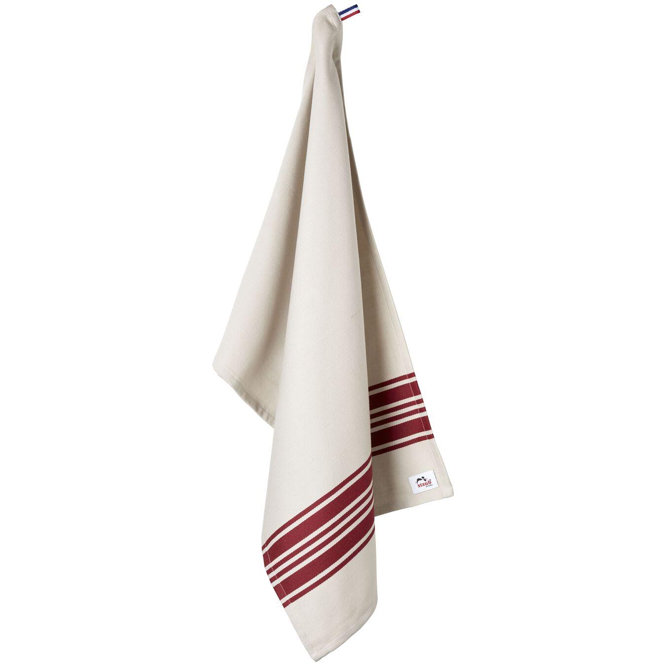 70 cm x 50 cm Cotton Kitchen towel, Cherry,,large 5