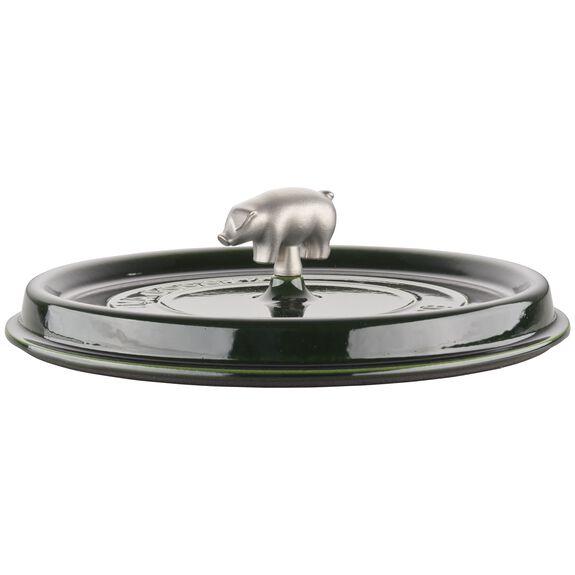 6-qt Cochon Shallow Wide Round Cocotte - Basil,,large 5