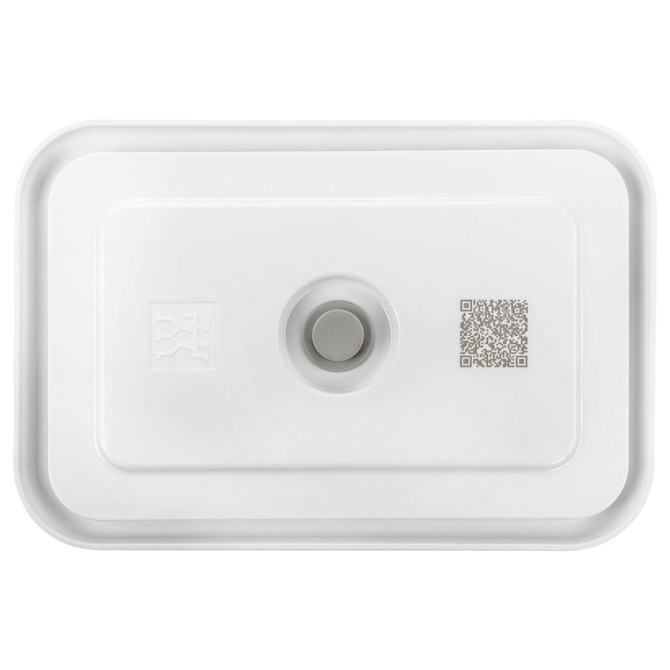 Contenitore sottovuoto, L, plastica, semi transparente-grigio,,large 2