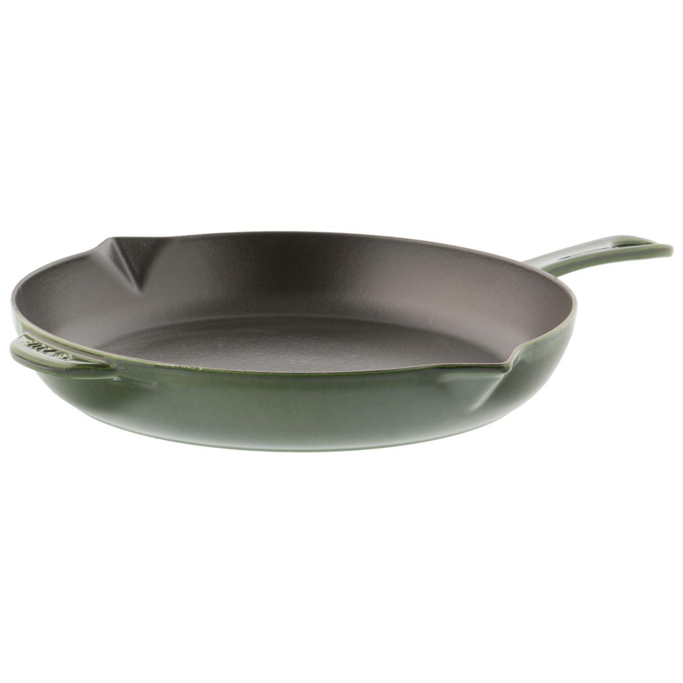 12-inch, Frying pan, basil,,large 1