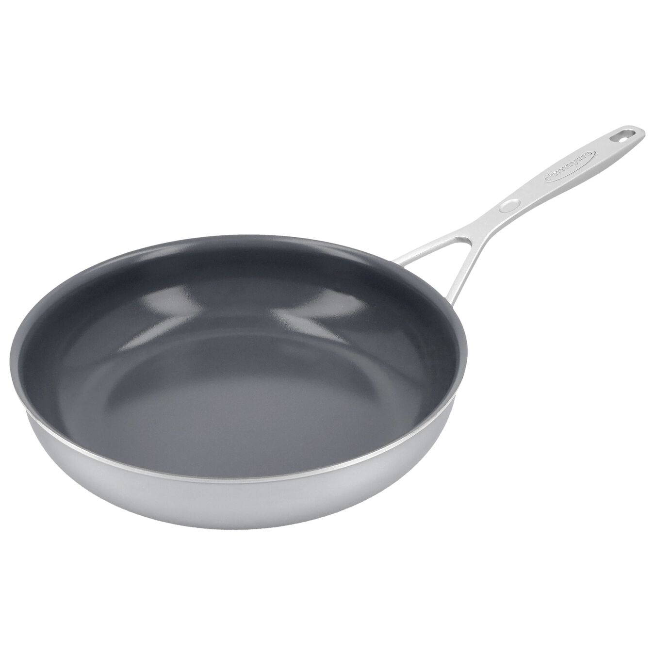 9.5-inch, 18/10 Stainless Steel, Non-stick, Ceramic, Frying pan,,large 4
