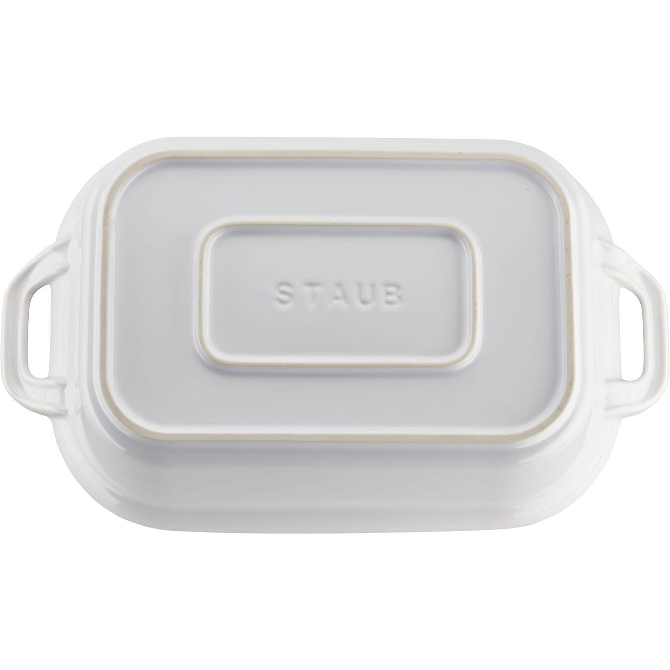 rectangular, Special shape bakeware, white,,large 5