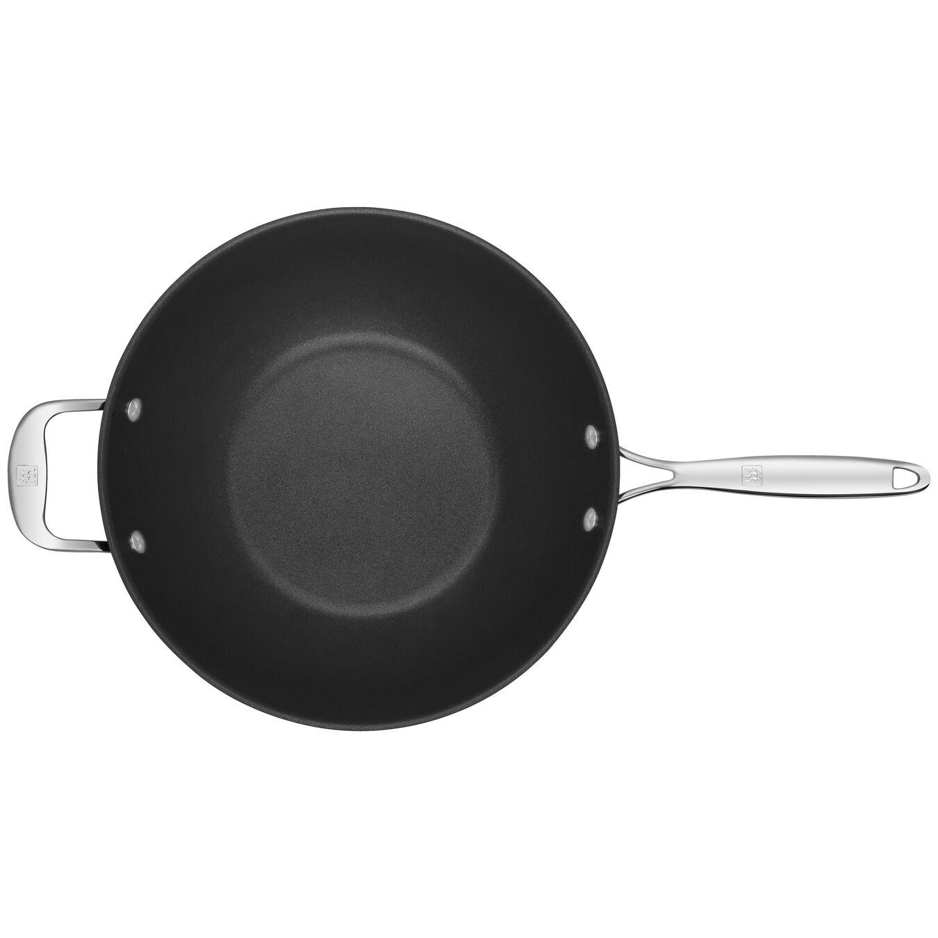 Wok Tava | Alüminyum | Gümüş-Siyah | 30 cm,,large 3