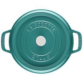 Staub La Cocotte, 3.8 l Cast iron round Cocotte, mint-green
