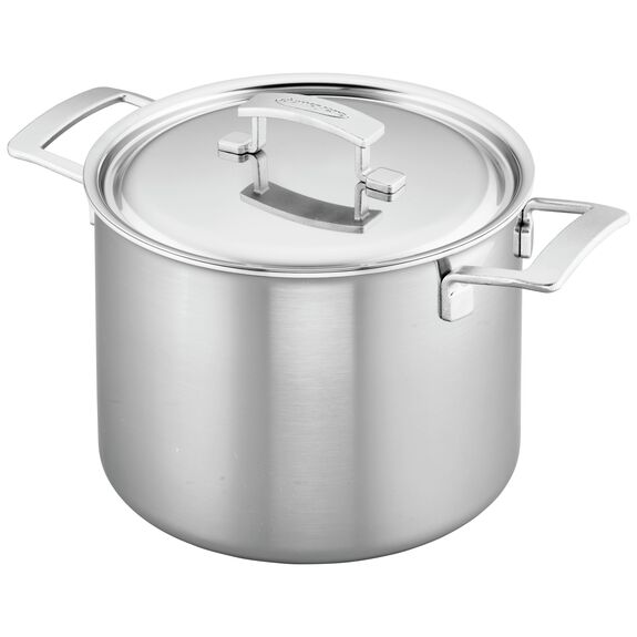 8.5-qt 18/10 Stainless Steel Stock pot,,large 2