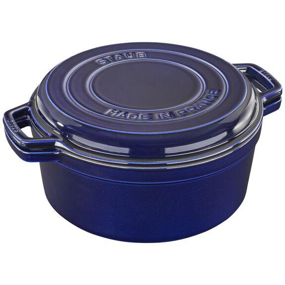 11-inch round Braise + Grill, Dark Blue,,large 5