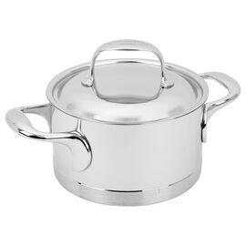 Demeyere Atlantis, 1,5 l 18/10 Stainless Steel Faitout with lid