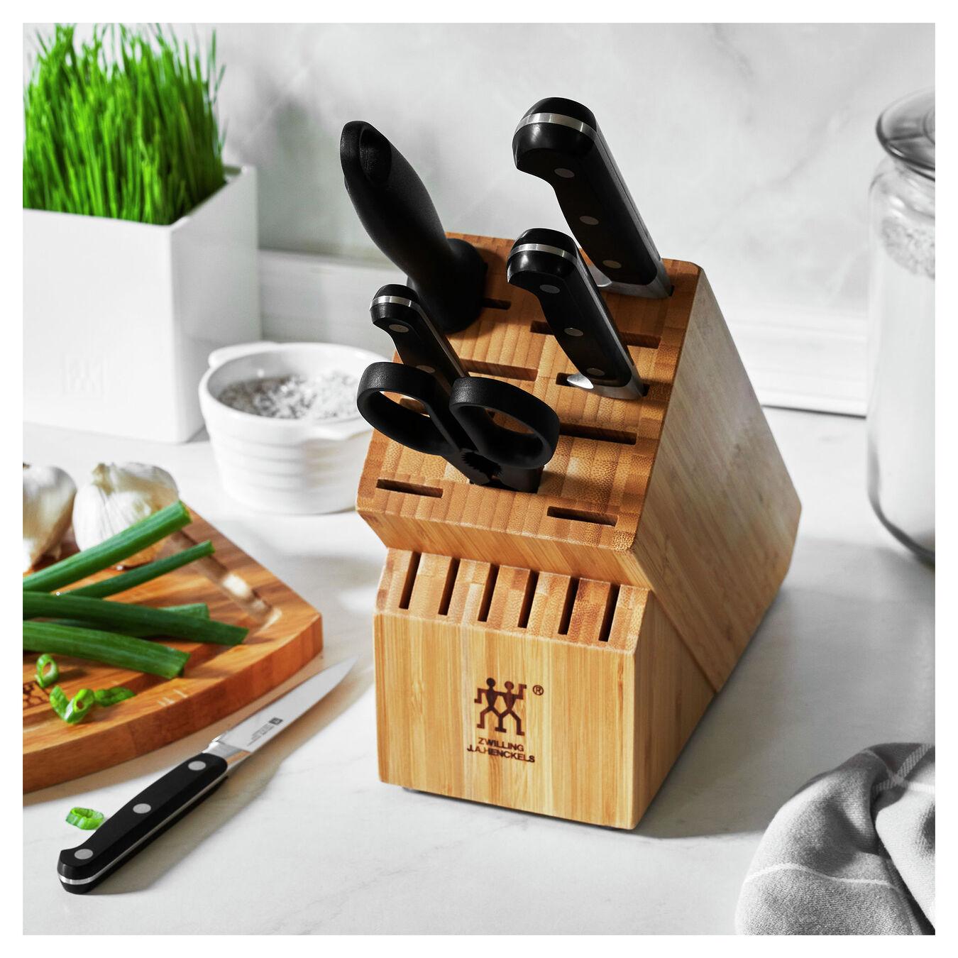 7-pc, Block Set with Bamboo Block, bamboo,,large 8