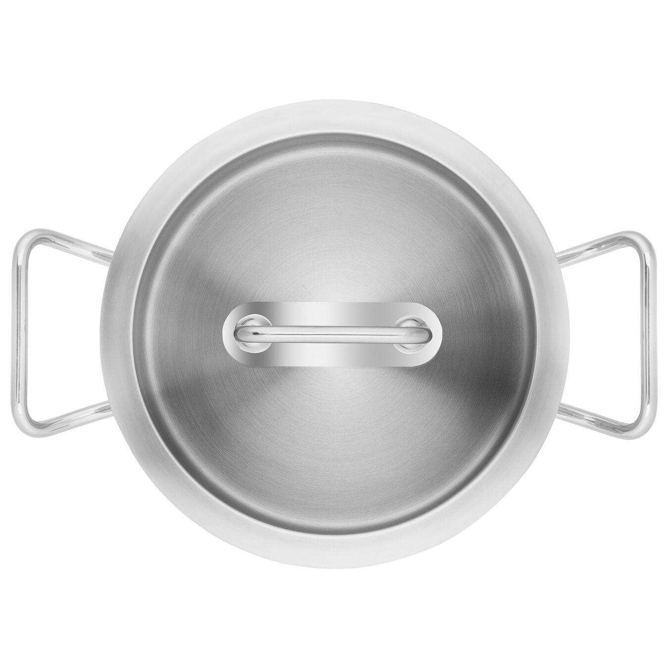 Sığ Tencere | 18/10 Paslanmaz Çelik | 24 cm | Metalik Gri,,large 5