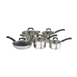 Henckels International Kitchen Elements, 10-pcs  Pots and pans set