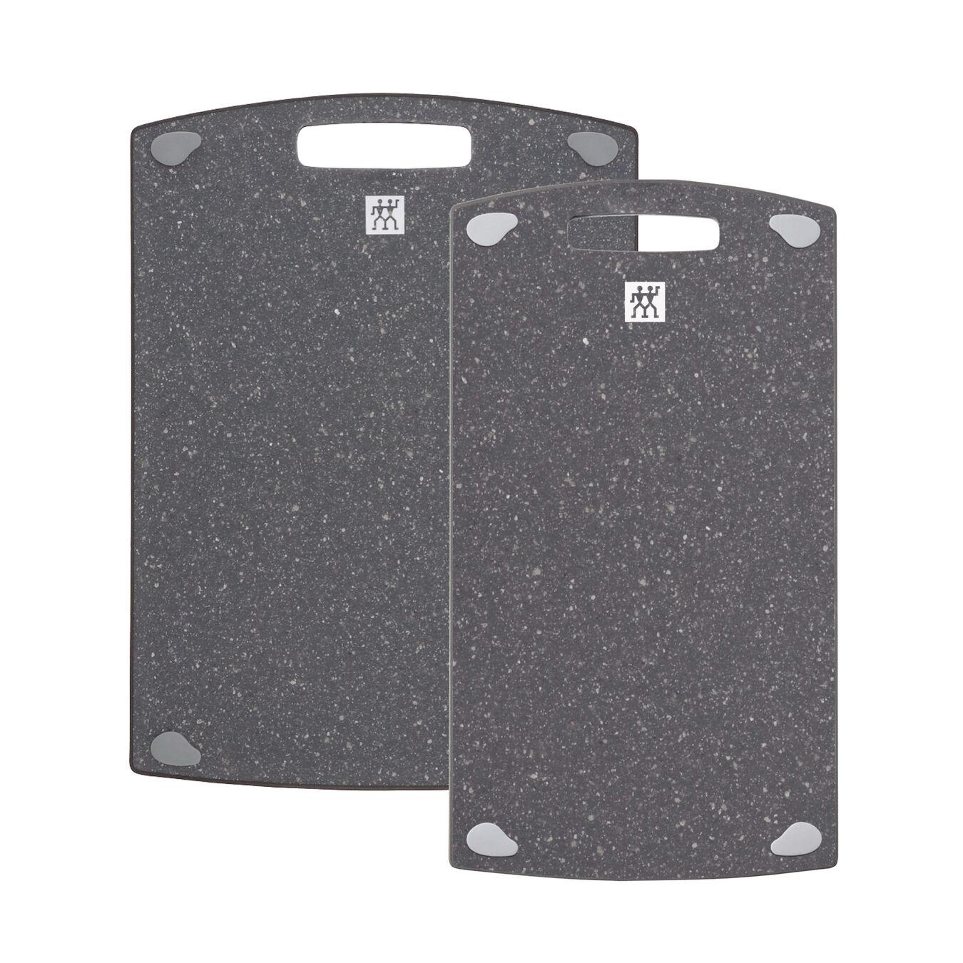 2 pc. Cutting board set, Plastic | 36 cm x 20 cm & 37 cm x 27 cm 36 cm x 20 cm,,large 1