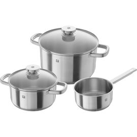 ZWILLING Joy, Ensemble de casseroles 3-pcs, Inox 18/10
