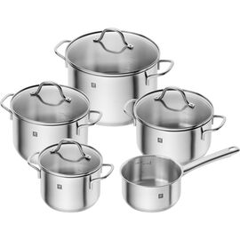 ZWILLING Flow, Ensemble de casseroles 5-pcs, Inox 18/10