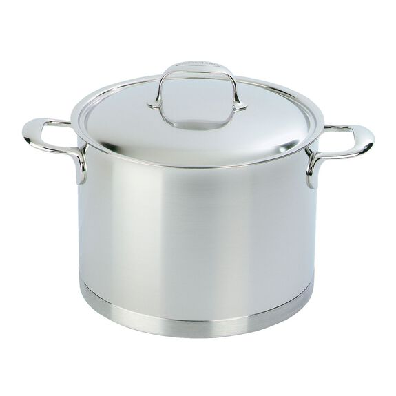 8.5-qt 18/10 Stainless Steel Stock pot,,large