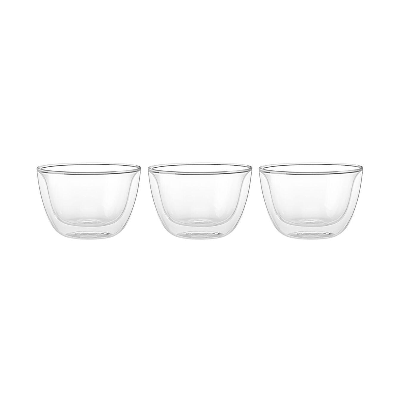 3-pc, Borosilicate glass, Appetiser set,,large 3