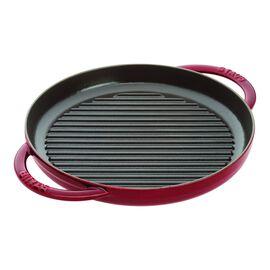 Staub Cast Iron, 10-inch Pure Grill - Grenadine