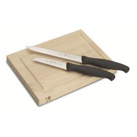 Henckels Paring Knives, 3-pc, Bar Knife and Board Set