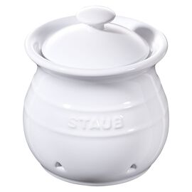 Staub Ceramics, Garlic Keeper - White
