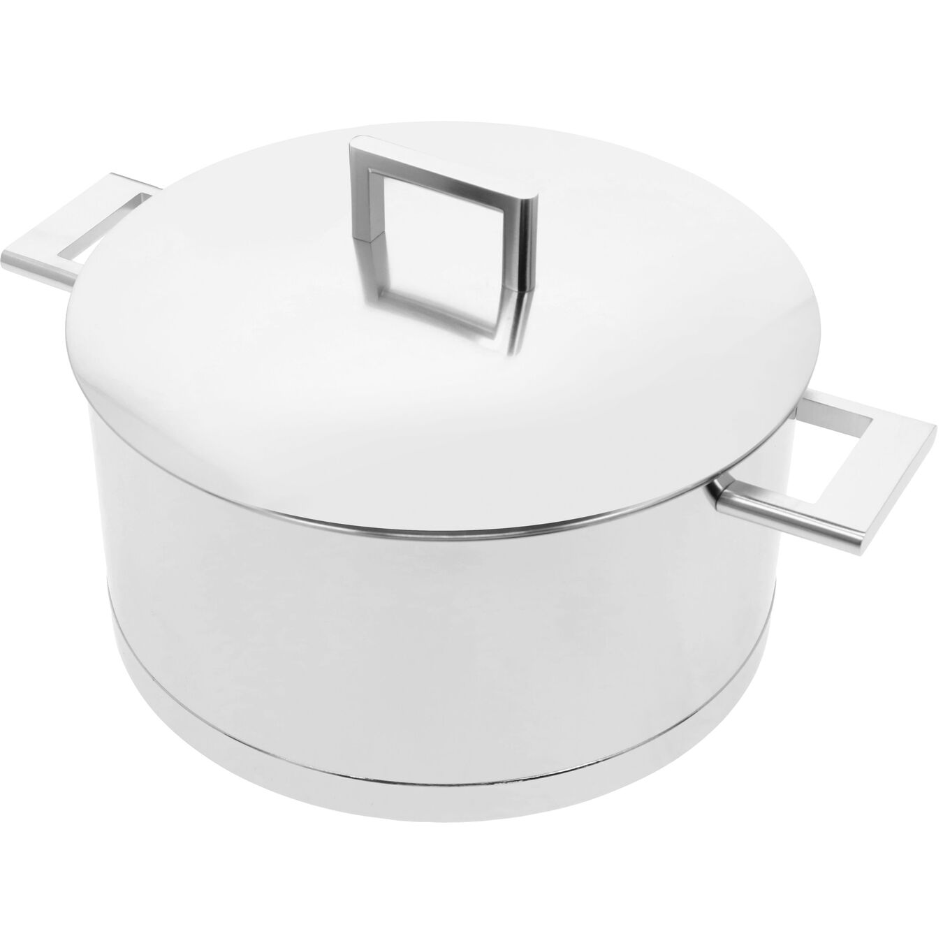 8.9 qt, 18/10 Stainless Steel, Dutch Oven with Lid,,large 7